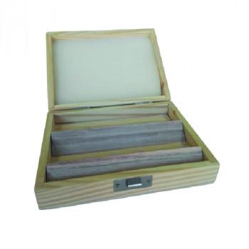 Caja de madera para 12 fresas