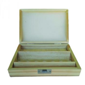 Caja de madera para 15 fresas