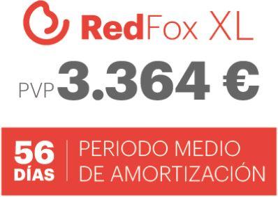 amortización  red fox xl